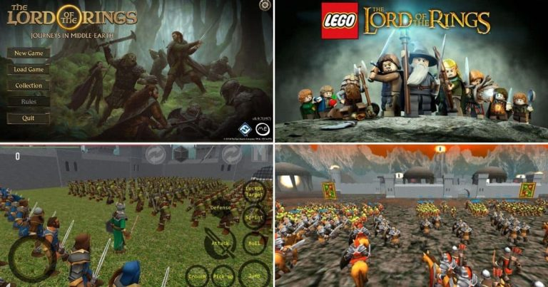 Every Lord of the Rings/Middle-earth Android Games