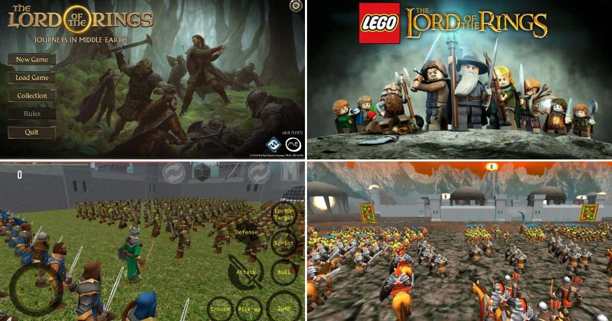 Every Lord of the RingsMiddle-earth Android Games
