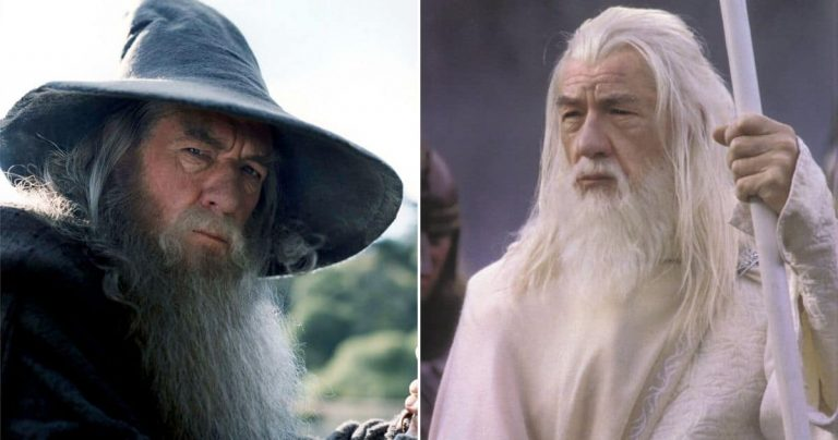 Gandalf the White vs. Gandalf the Grey