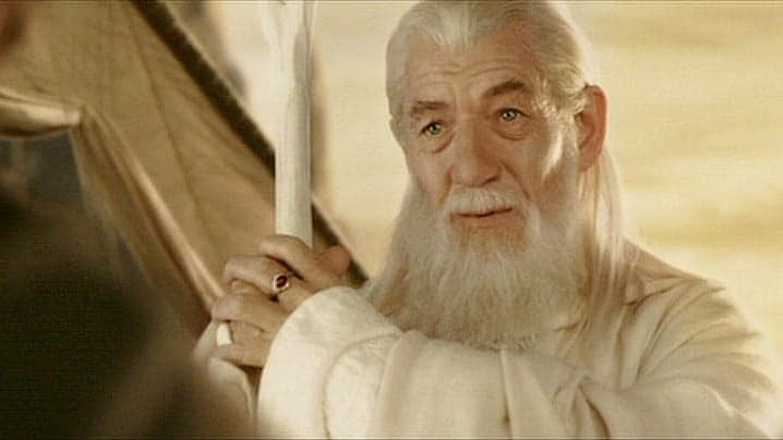 Why did Gandalf turn White?