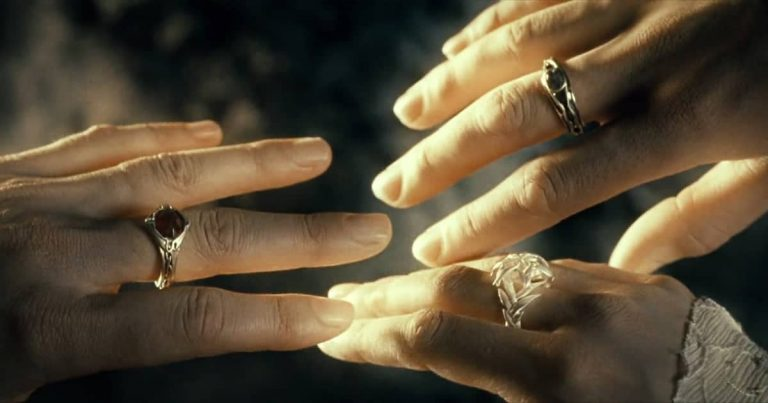 What are the Three Rings (Three Rings of the Elves) in Lord of the Rings