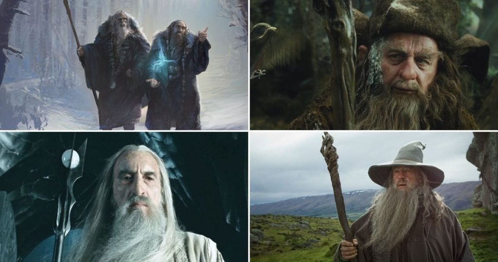 Who are the 5 Wizards in Lord of the Rings (Middle Earth)