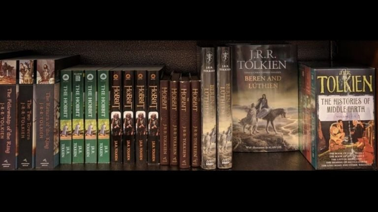 Tolkien's Middle-earth Books Reading Order