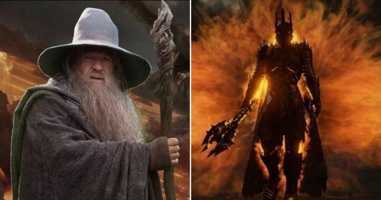 Is Gandalf Stronger Than Sauron In The Lord of The Rings?