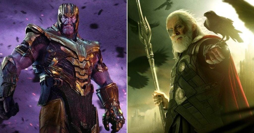 Was Thanos Afraid of Odin?