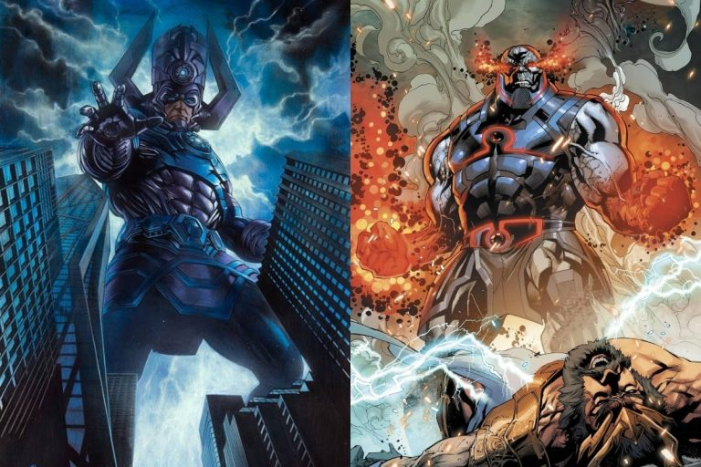 Is Darkseid Stronger Than Galactus?
