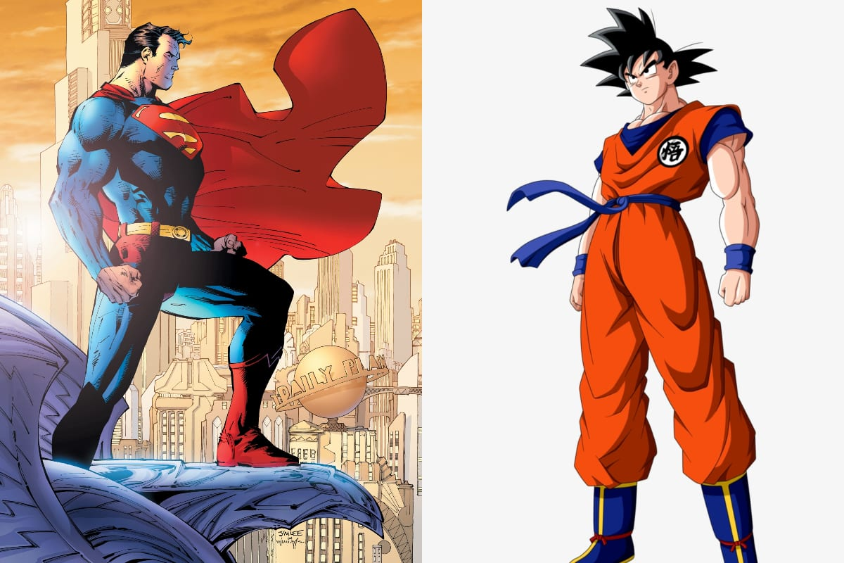Could Son Goku Beat Superman in a Fight?