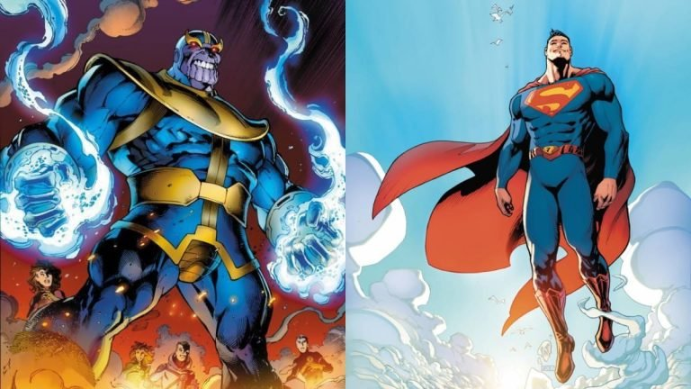 Is Superman Stronger Than Thanos?