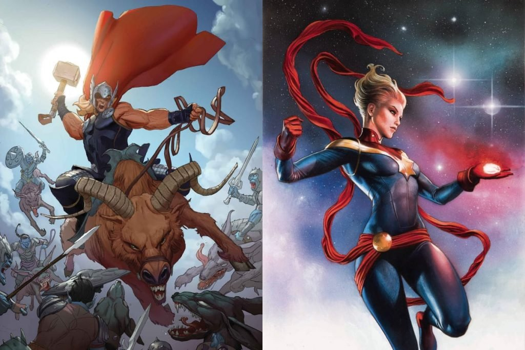 Is Thor Stronger than Captain Marvel?