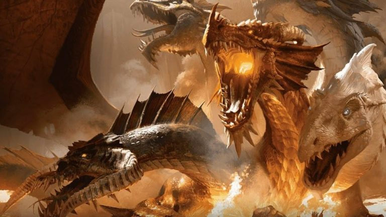 10 Strongest Dragons in Dungeons and Dragons