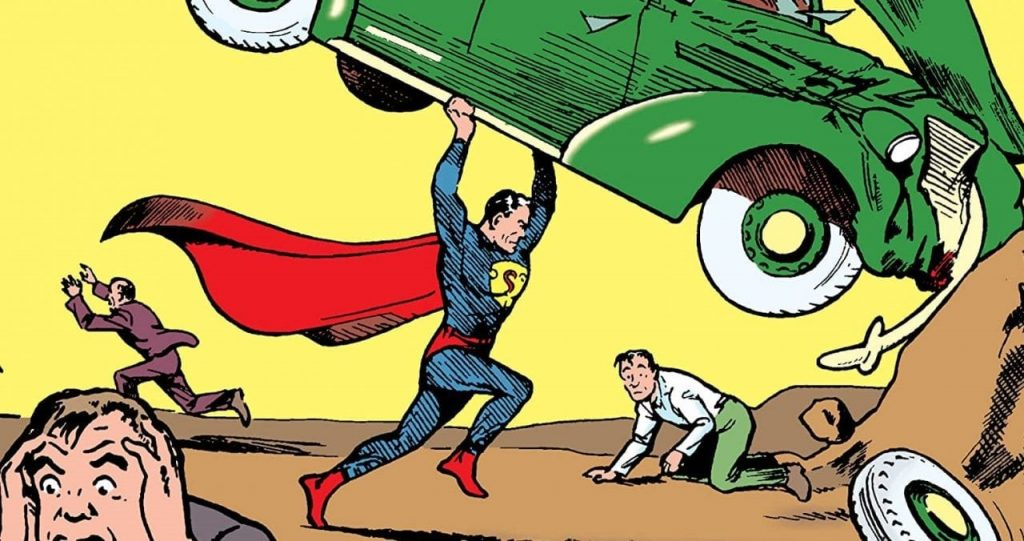 Who Was DC Comics' First Superhero?
