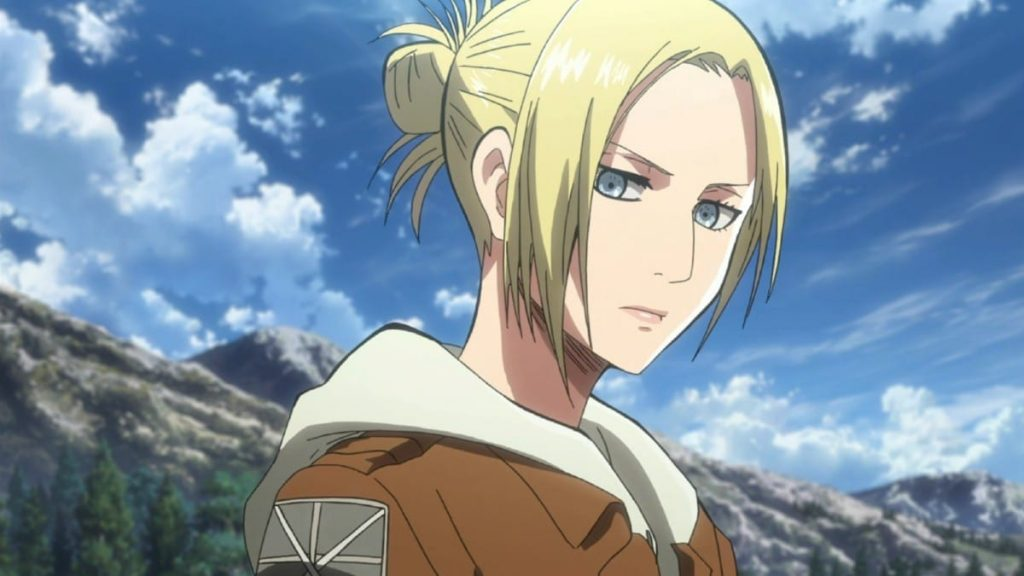 What happened to Annie on Attack on Titan?