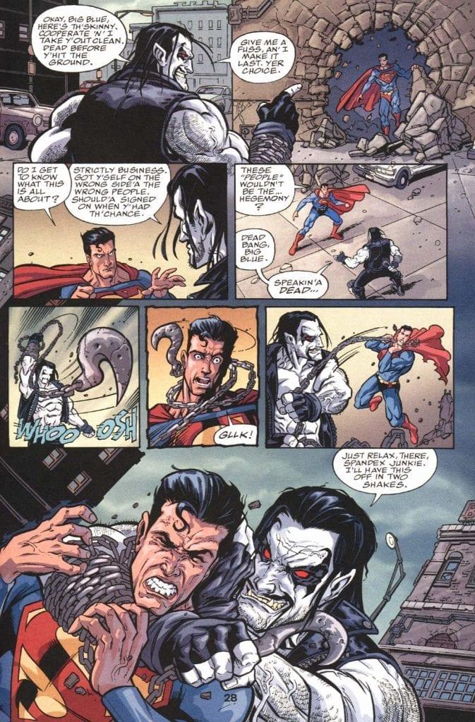 Lobo vs Superman