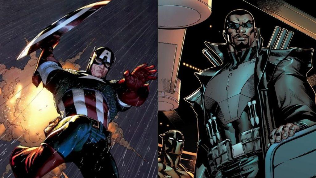 Blade vs Captain America