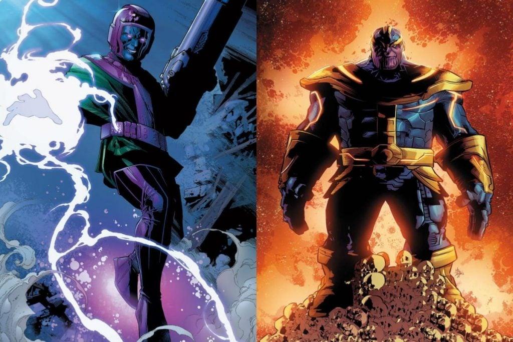 Kang vs Thanos