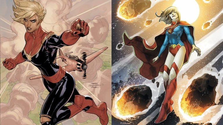Is Supergirl Stronger than Captain Marvel?