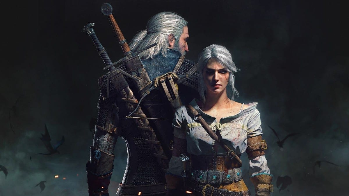 Why do Geralt and Ciri Have White Hair?