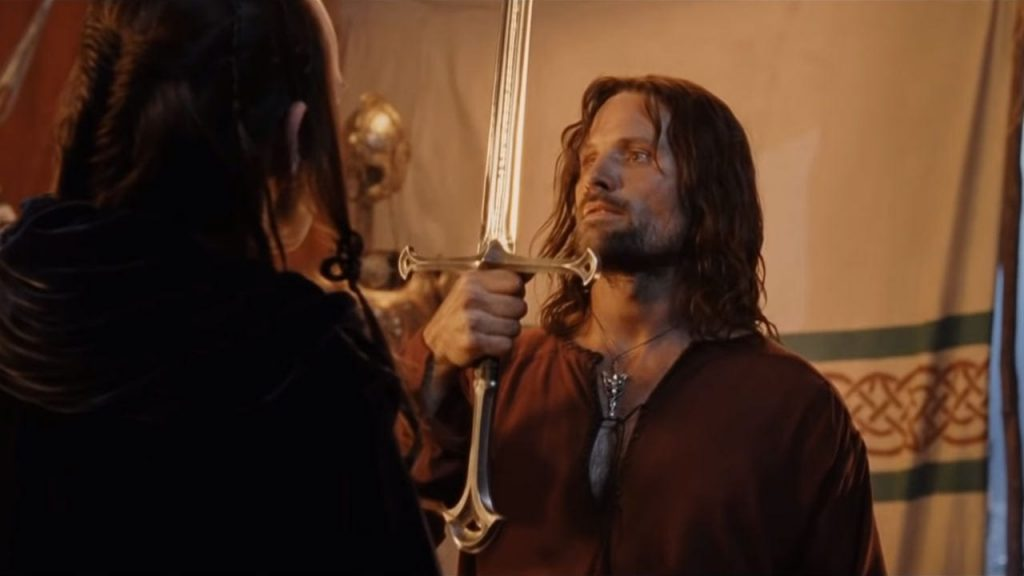 THE WEAPONRY AND ARMOR OF ARAGORN AND STRIDER