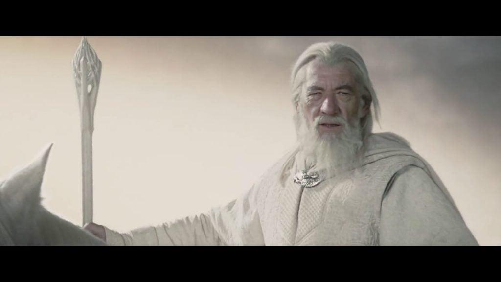Why did Gandalf turn White