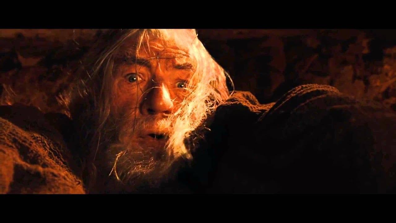 Why did Gandalf let go?