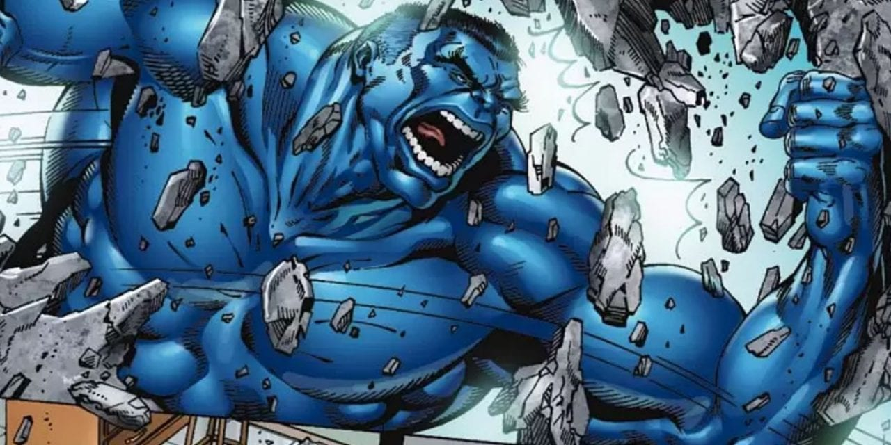 Is There a Blue Hulk?