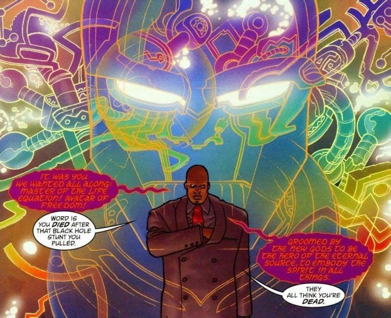 What is Darkseid's True Form?