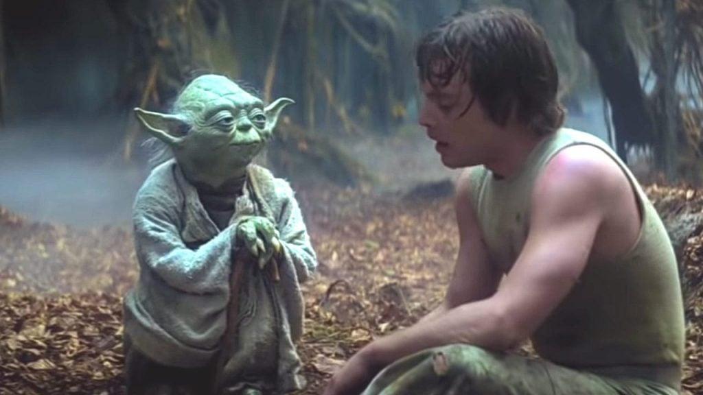 How long did Luke Skywalker train with Yoda on Dagobah?
