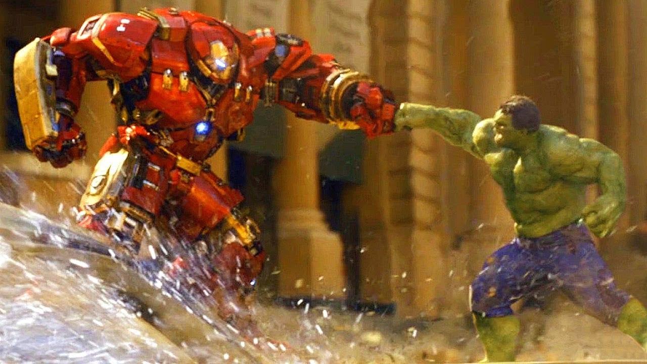 Hulk vs Iron Buster - Hulk Movies in Order