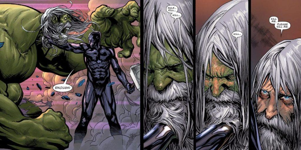 Can Hulk Die of Old Age?