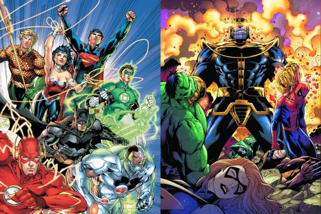 Justice League vs Thanos: Who Would Win?