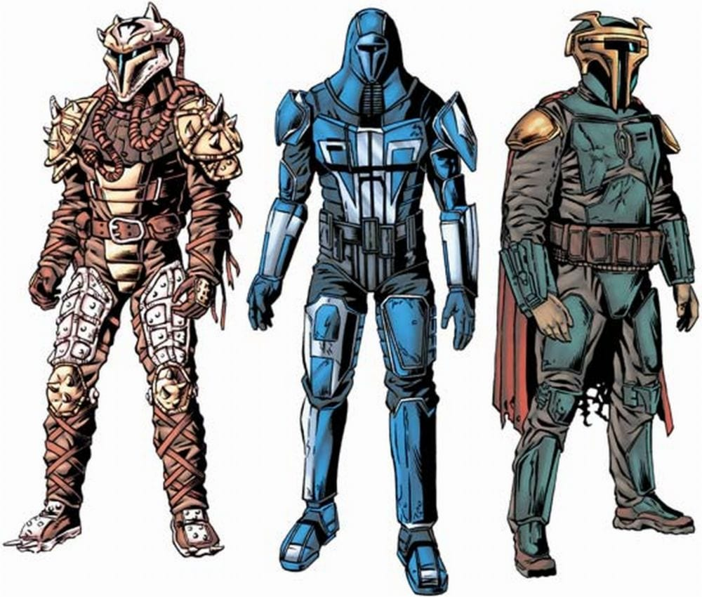 What Do the Colors in Mandalorian Armor Mean?