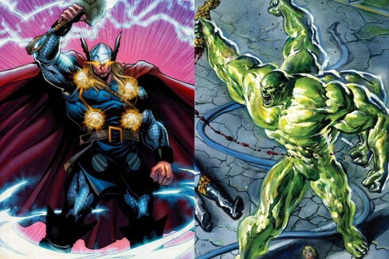 Space Punisher Hulk vs Rune King Thor: Who Would Win?
