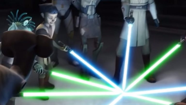 What Is the Rarest Lightsaber Color in Star Wars?