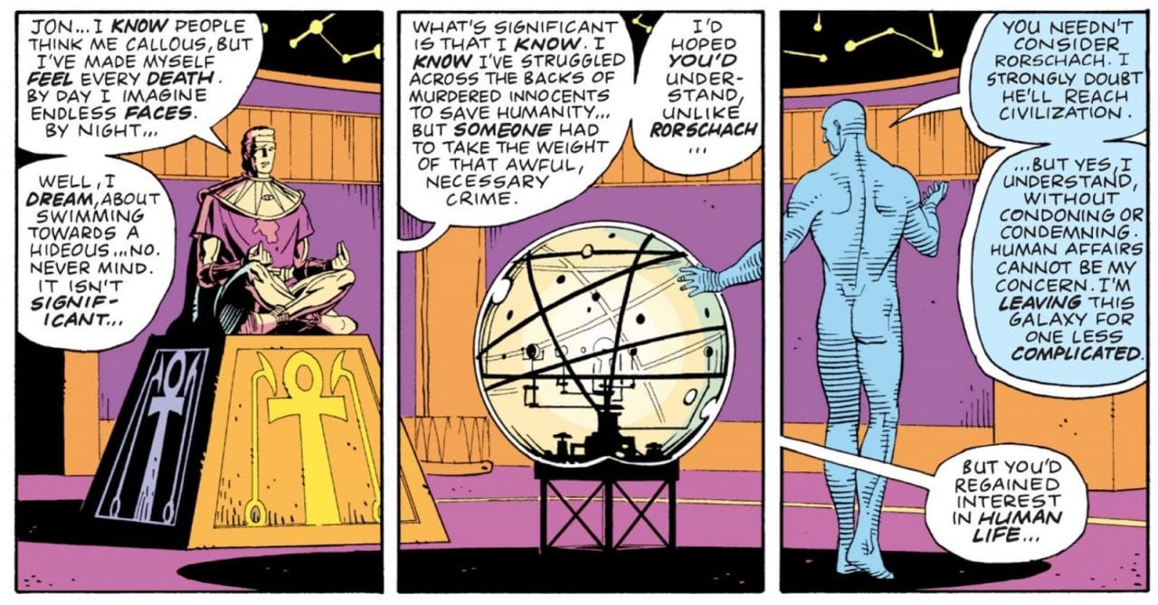 Who Is Smarter: Dr. Manhattan or Ozymandias?