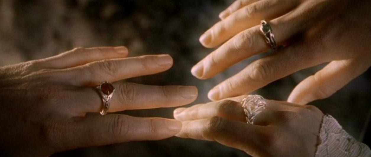 Why Didn't the Hobbits Get a Ring?