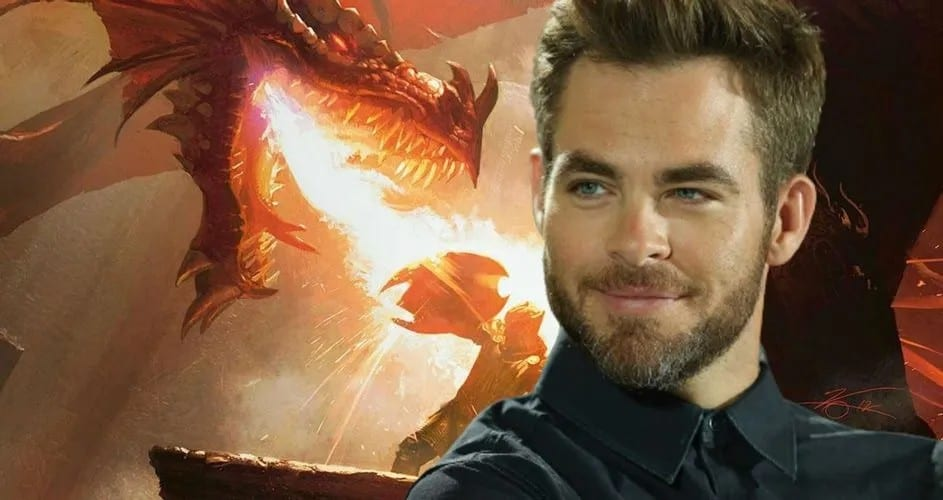 Chris Pine negotiates role in 'Dungeons & Dragons'