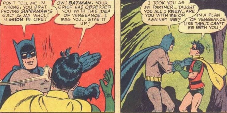 Why Did Batman Slap Robin?
