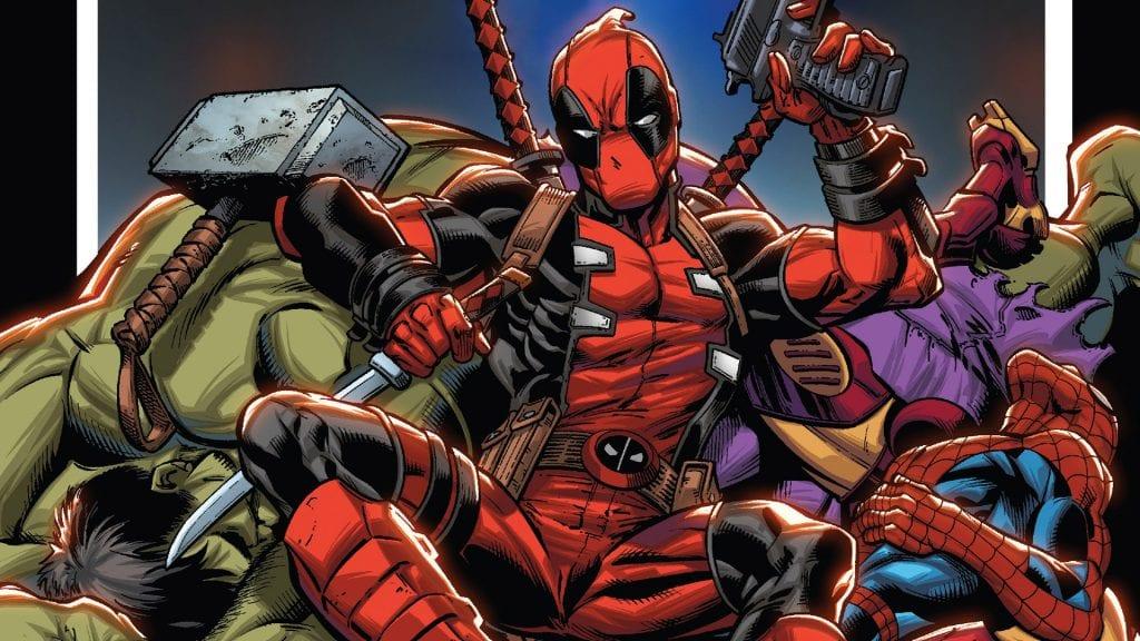 Deadpool - Deadpool vs Batman