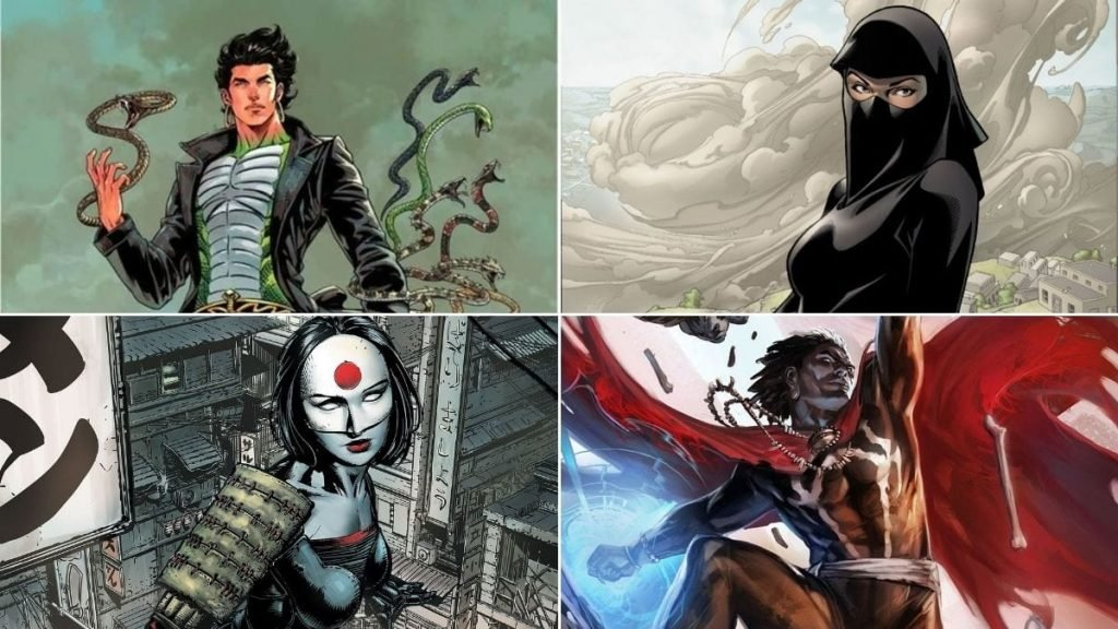 40 Most Popular Superheroes By Country