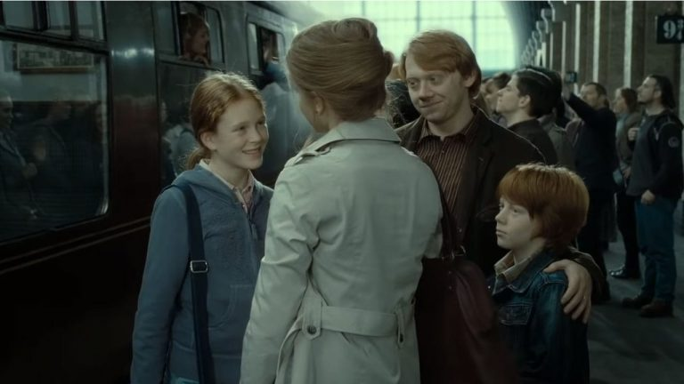 What Are the Names of Ron's and Hermione's Children?