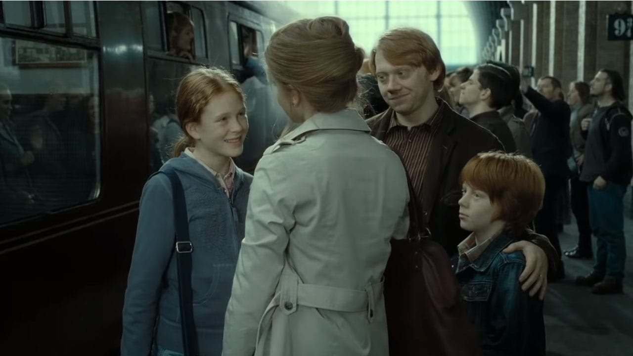 What Were The Names Of Ron And Hermione's Children