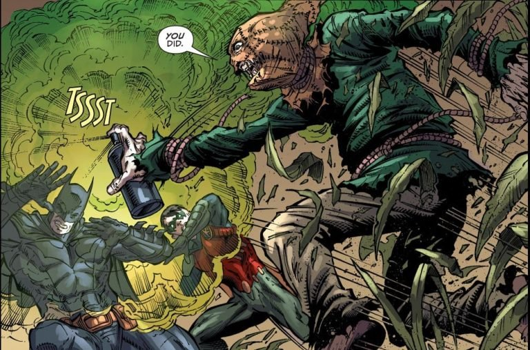 Is Batman Immune to Scarecrow's Fear Toxin?