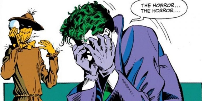 Does Scarecrow's Fear Toxin Work on the Joker?