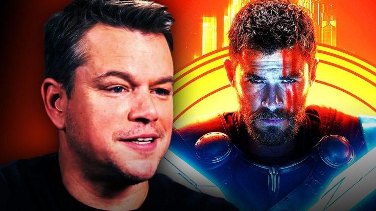 Matt Damon Gets a Role in 'Thor: Love and Thunder'