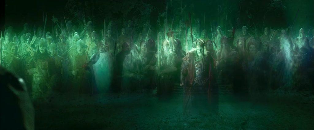 How Did Isildur Curse the Men of Dunharrow?