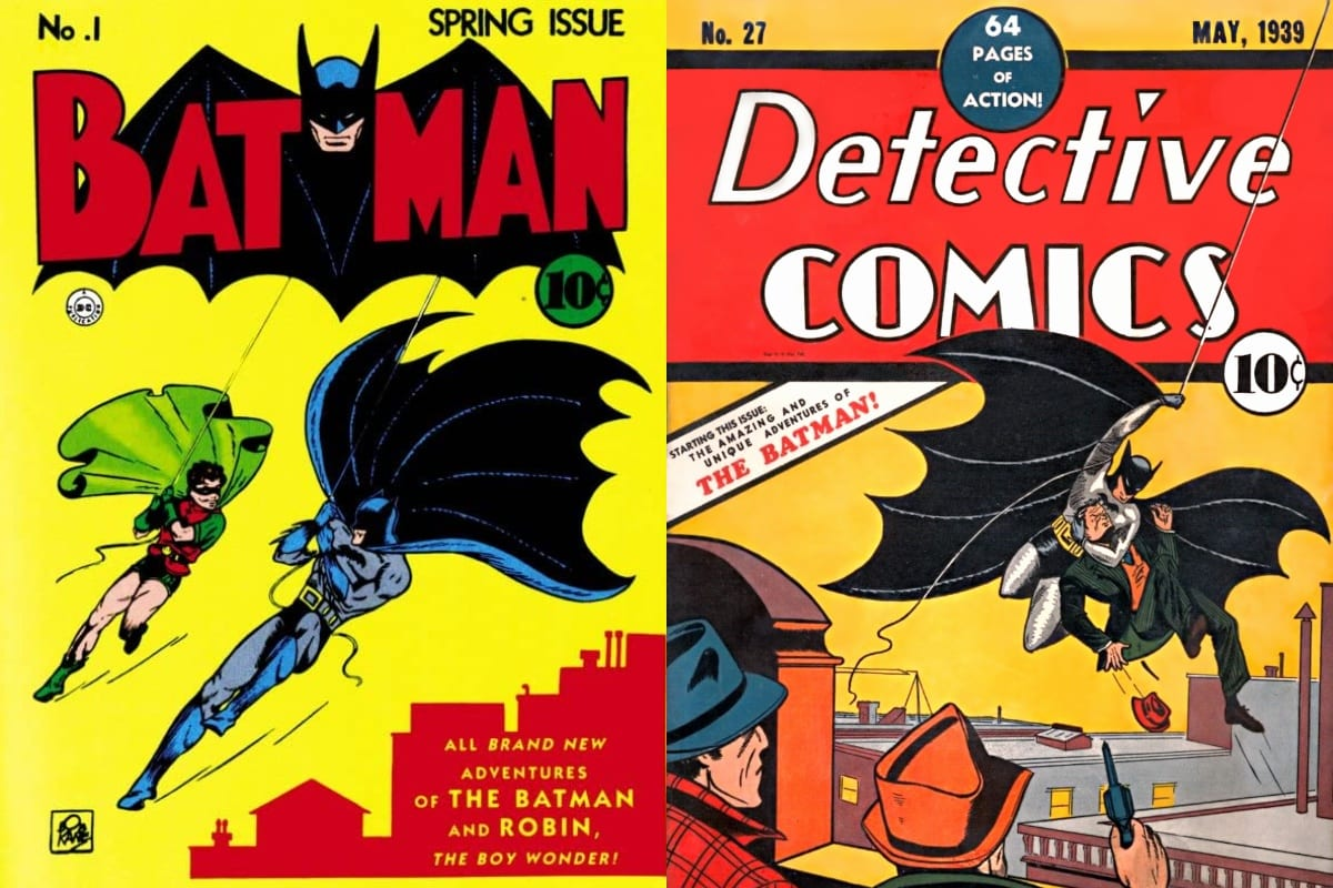 What Is the Difference Between the Batman and Detective Comics series?