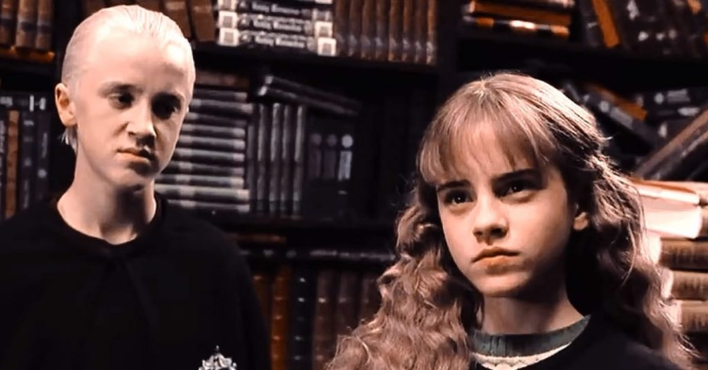 Did Draco Like Hermione in Harry Potter?