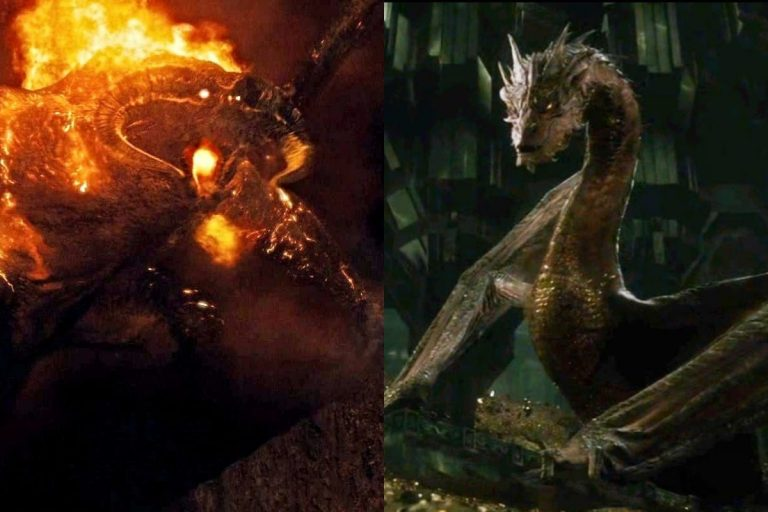 Balrog (Durin's Bane) vs Smaug: Who Is Stronger?