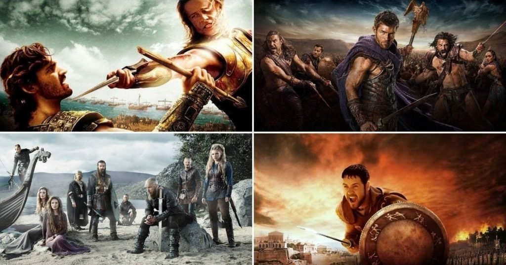 """25 Epic Movies Like """"300"""" and 10 TV Shows"""
