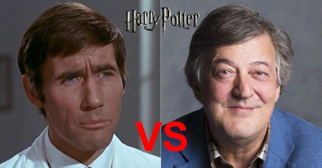 Best Harry Potter Audiobook Narrator Jim Dale vs. Stephen Fry